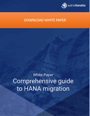 HANA migration 1