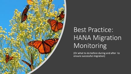 HANA migration webinar