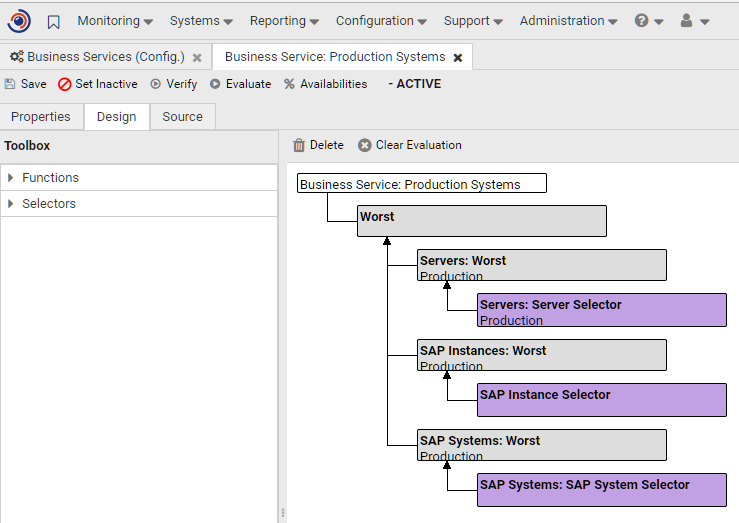 Smart SAP Business Service Management (BSM)